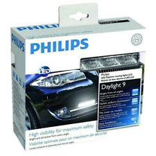 Philips LED Day Light 9 DRL Daytime Running Lights 12V 6W 12831WLEDX1 GENUINE