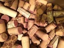 100 Wine Corks 100% ALL Natural Mix of Logos Many Similar from Red Wine