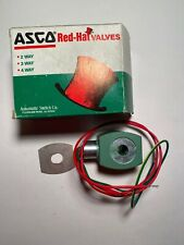 Asco Red Hat Replacement Solenoid Valve Coil 238610-058-D, 208-240VAC, 18