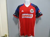 dce3490d0 Club Chivas Guadalajara jersey red adidas manga corta seleccion mexicana