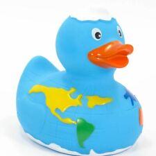 World Globe Map Rubber Duck