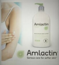 AmLactin Alpha Hydroxy Therapy BODY LOTION EXTRA DRY SKIN HUGE 20 Oz