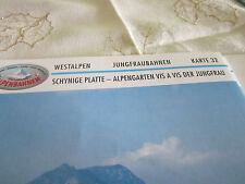 Alpenbahnen Westalpen K 32 Jungfraunahnen Schynige Platte Alpengarten