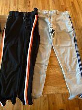 2 Pair Mens Softball/baseball Pants- Medium (Boombah)