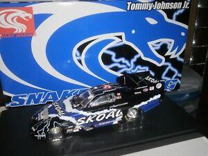 NHRA RACING CHAMPIONS AUTHENTICS 1/24 TOMMY JOHNSON JR 2001 SKOAL SNAKE RACING