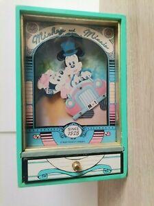 mickey et minnie rare boite a musique de la marque trousselier