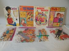 Lot of Vintage Buffy Julia The Brady Bunch The Waltons Paper Dolls