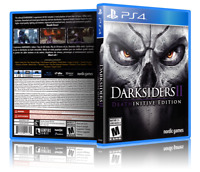 Darksiders II: Death-initive Edition - ReplacementPS4 Cover and Case. NO GAME!!
