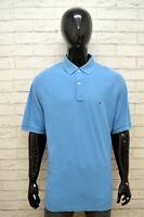 TOMMY HILFIGER Maglia Uomo Polo Taglia Size XXL Camicia Shirt Manica Corta