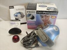 HoMedics MT-PA Palm Percussion Body Massager with 3 Massage Head Attachment