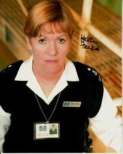 HELEN FRASER hand-signed BAD GIRLS 8x10 w/ uacc rd coa WEARING PRISON ID BADGE