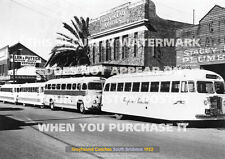GREYHOUND BUSES BRISBANE 1952 A3 POSTER PRINT PICTURE IMAGE PHOTO x