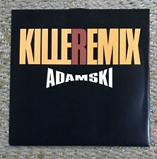 "Killer Remix Adamski 12"" Vinyl Single Excellent Condition"