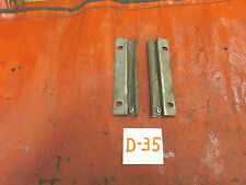 Asutin Healey 3000, Original Rear Seat Slide Brackets, Matched Pair, !!