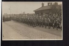 Bootle, Liverpool - Military Victory March - real photographic postcard