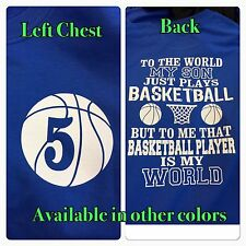 Basketball Mom Shirt Personalized New Basketball Number