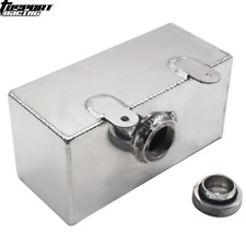 Windscreen Washer Bottle Aluminium Alloy Polished Intercooler Spray Tank 2 litre