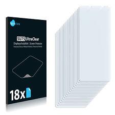 18x Displayschutzfolie für Sony Xperia 10 III Lite Klar Schutzfolie