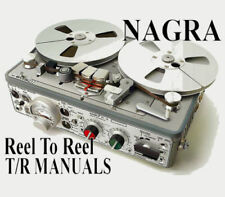 ☆ NAGRA Reel To Reel & Discontinued Tape Recorder MANUALS on DVD-Rom or Download