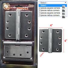 NovelBee Pair of Stainless Steel Door Pivot Offset Pivot Hinge for Door or Window