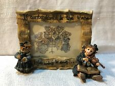 Boyds Yesterdays Child Dollstone Lindsey Louise The Recital Picture Frame 27551