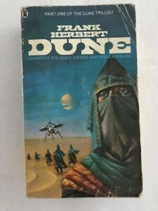 Vintage DUNE Novel Softcover Book by Frank Herbert 1978 Edition GC Rare