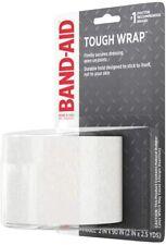Johnson & Johnson Band-Aid First Aid Tough Wrap 1 Roll 2 x 90 Brand New Package