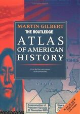 Atlas of American History Martin Gilbert Paperback Used - Good