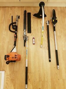 STIHL KOMBI KM85 WITH TRIMMER, STRIMMER, EXTENSION AND PRUNER. #2. FAST POST