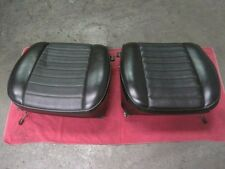 PORSCHE 901/911/912 FRONT SEAT LEFT & RIGHT CUSHIONS  EARLY  911-T 911-E 911-S