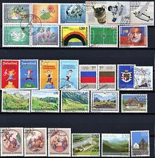 Liechtenstein Issues of 2006 Set of 30 Different Used / CTO Stamps