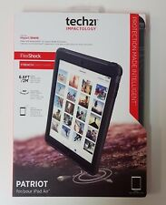 New Genuine Tech21 Patriot Thin Full Surround Screen Cover + Case Apple iPad Air