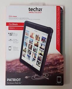 New Genuine Tech21 Patriot Thin Full Surround Screen Cover + Case Apple iPad Air