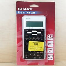 SHARP SCIENTIFIC CALCULATOR EL531THB-WH GCSE A LEVEL BRAND NEW & SEALED