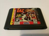 Taz in Escape From Mars (Sega Genesis, 1994) Cleaned Tested Cartridge Only