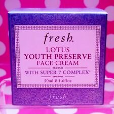 FRESH LOTUS YOUTH PRESERVE FACE CREAM WITH SUPER 7 COMPLEX 1.6 OZ -AUTHENTIC!