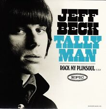 "Jeff Beck - Tallyman / Rock My Plimsoul - 7"" US RSD 2015 Gold Vinyl 45 - New"