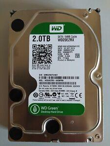 Western Digital Green 2TB,Intern,3,5 Zoll, 5400RPM (WD20EZRX)