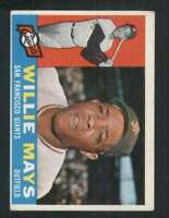 1960 Topps #200 Willie Mays EX/EX+ Giants 123046