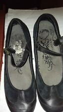 WOMEN'S, MERRELL, BLACK, MARYJANE SHOES, LEATHER, SIZE 9.5, EXCELLENT CONDITION