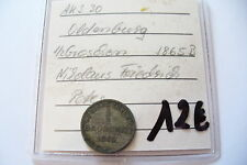 ANCIENNE MONNAIE -  ALLEMAGNE - 1/2 GROSCHEN 1865 B   -  BEL ETAT  !!(20/04/16)