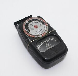 General Electric GE Early Light Exposure Meter Type - DW68 Rare & working 1950s