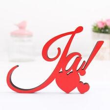 """Kleinlaut 3D-Schriftzug """"Ja!"""" 32 Farben & 5 Größen Geschenkidee Hochzeit Ehe"""