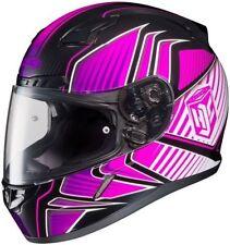 HJC CL-17 Ladies Full Face Helmet Redline Graphic MC-8 Pink Size Small