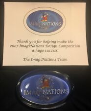 Walt Disney IMAGINEERING Imaginations 2007 Design Competition Paperweight CE