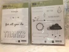 Stampin Up For Being You, And Hello Love Stamp Sets. Bundle