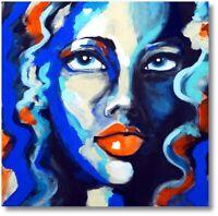 Unikat Handgemaltes Wandbild Direkt vom Künstler Porträt Art Nr. 691