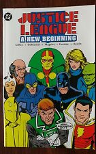 JUSTICE LEAGUE: A NEW BEGINNING TPB (1989) - NM- DC