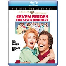 Seven Brides for Seven Brothers 1954 (Blu-ray) Jane Powell, Howard Keel - New!
