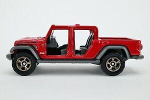 2020 Matchbox #60 '20 Jeep® Gladiator FIRECRACKER RED / MINT